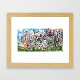 Studio Ghibli Framed Art Print