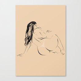 WOMAN #72 Canvas Print