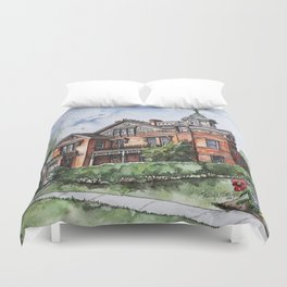 Armstrong Mansion Duvet Cover