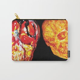 2 Skull Carry-All Pouch