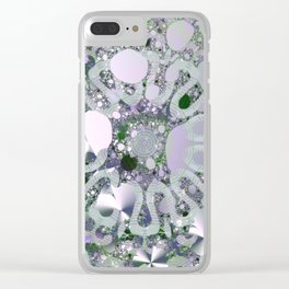 Underwater secret - Abstract illustration Clear iPhone Case