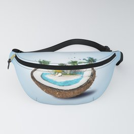 The illusion of the sea paradise blue Fanny Pack