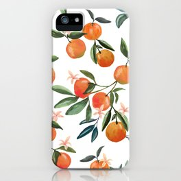 SWEET ORANGES iPhone Case