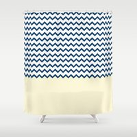 marine Shower Curtains featuring MARINE by JeremyG