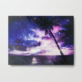Galaxy ocean Metal Print