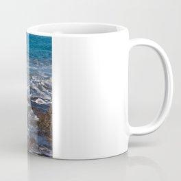 rock in the waves Coffee Mug