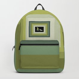 Paint Chip Pterodactyl Backpack