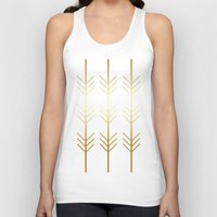 stay gold Tank Tops featuring stay gold by Reckless Crush