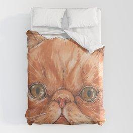 Betty aka The Snappy Cat- artist Ellie Hoult Duvet Cover