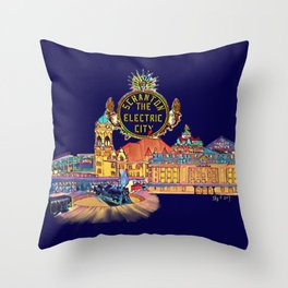 Scranton City 2 Throw Pillow
