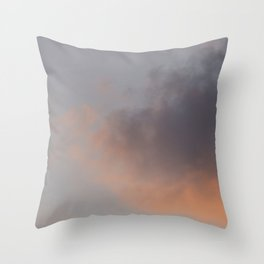 Sebago Lake Sunset Throw Pillow