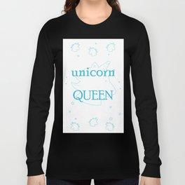 unicorn QUEEN Long Sleeve T-shirt
