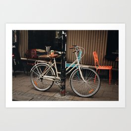 Lonely Cycle Art Print