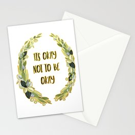 Its Okay not to be Okay Stationery Cards