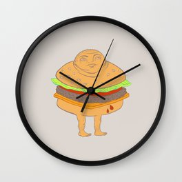 Hambummed Wall Clock