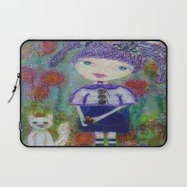 Viola & Lipstick - Whimsies of Light Children Series Laptop Sleeve