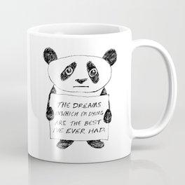 Depressed Panda Coffee Mug