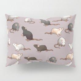 Pixel Rats Pillow Sham