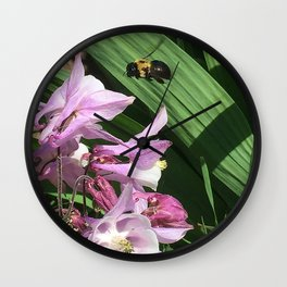 Flight of the Bumble Bee Wall Clock
