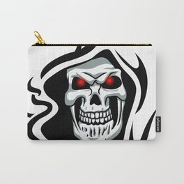 Skull tribal tattoo Carry-All Pouch
