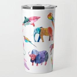 Technicolor Animal Kingdom Travel Mug