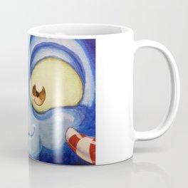 Blue moster Coffee Mug