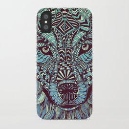 Wolf (Lone) iPhone Case