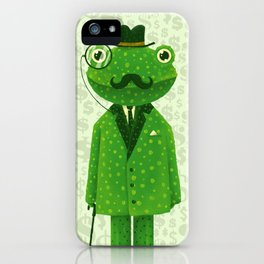 Mr. Frog iPhone Case