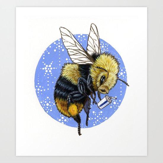 Dia-BEE-tes Art Print