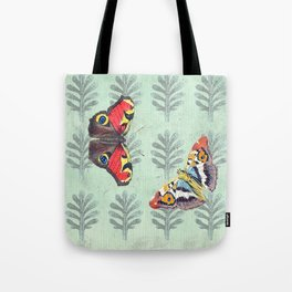 Summer's sojourn with butterflies Tote Bag
