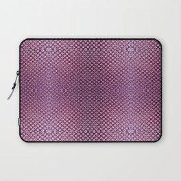 Purple Velvet Dot Pattern Art Laptop Sleeve
