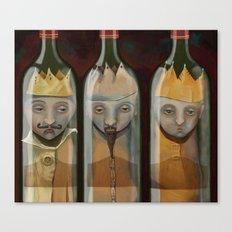 Bottled Kings Canvas Print
