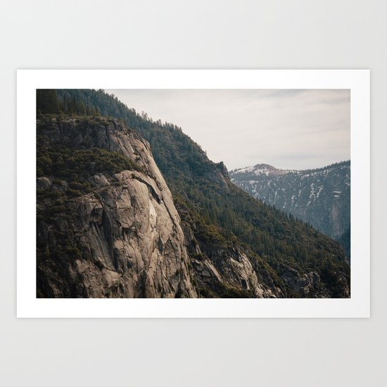 To The Mountains Art Print