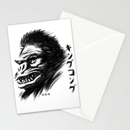 Waterbrushed Ape Stationery Cards