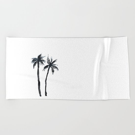 Alone together Beach Towel