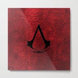 Creed Assassins Brotherhood Metal Print