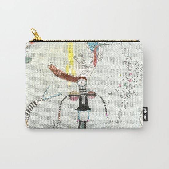 Desire creates the power. Carry-All Pouch