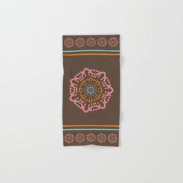Aztec Mandala Hand & Bath Towel