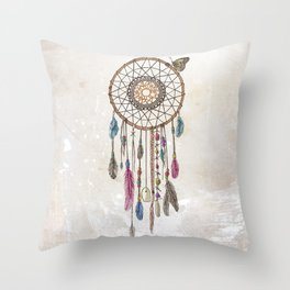 Lakota (Dream Catcher) Throw Pillow