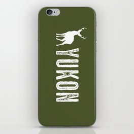 Deer: Yukon, Canada iPhone Skin