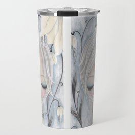 Silence of the Snowdrops Travel Mug
