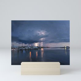 Severe Storm Watch Mini Art Print