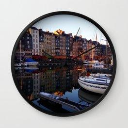 Honfleur Wall Clock