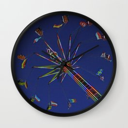 Colorful flyer | Bunter Flieger Wall Clock
