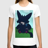 toothless T-shirts featuring Toothless by DaemonDeDevil