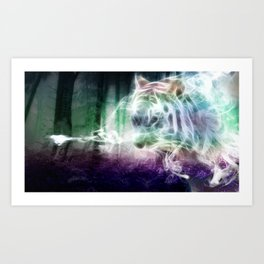 Spirit Tiger Art Print
