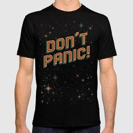 Don't Panic! Pixel Art T-shirt
