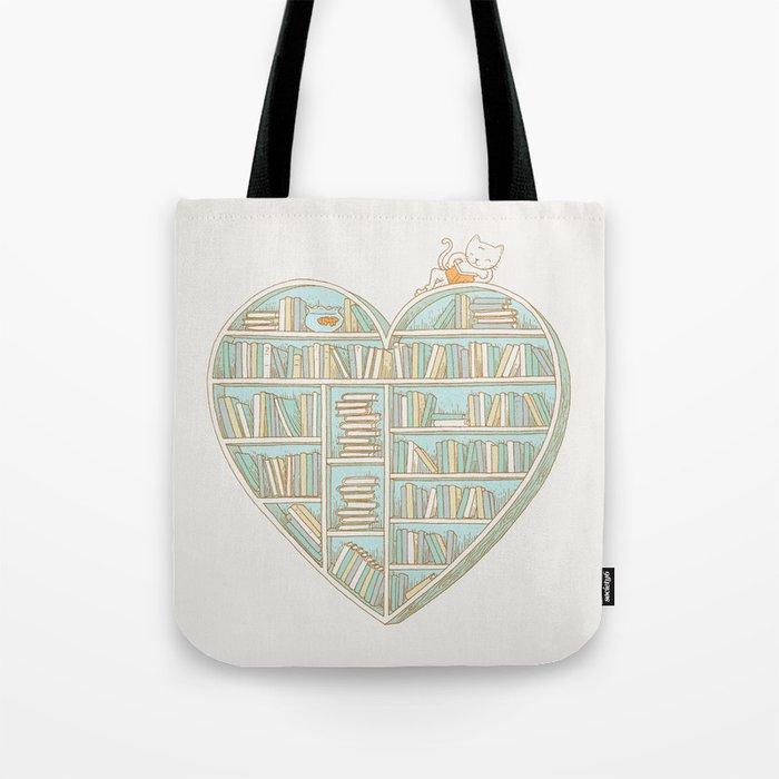 I Heart Books Tote Bag