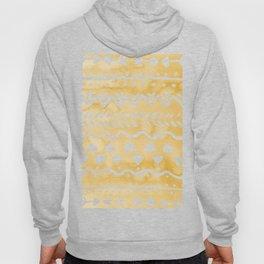 Loose bohemian pattern - yellow Hoody