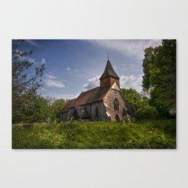 Selmeston Church Canvas Print